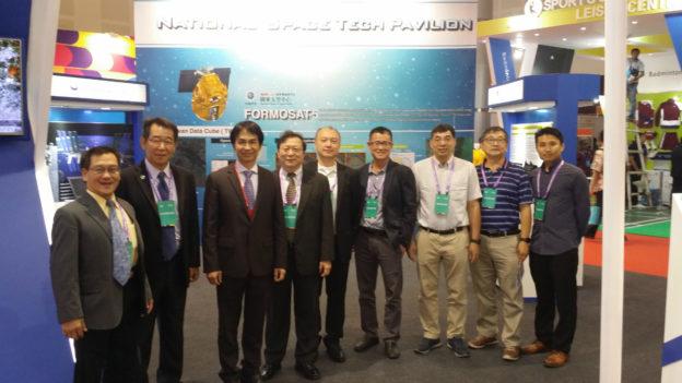 2019年印尼台灣形象展 國研院太空中心拓展福五遙測商機